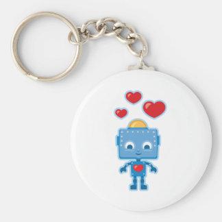 Porte-clés Rétro art fait sur commande de robot personnalisé