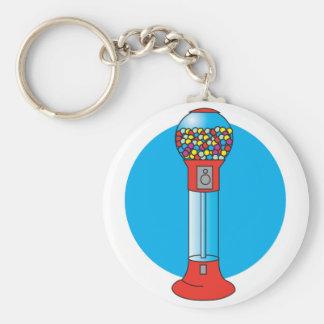 Porte-clés rétro machine de gumball