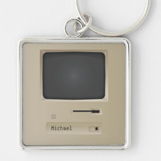 Porte-clés Rétro ordinateur frais de PC