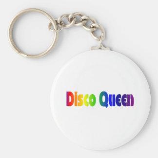 Porte-clés Rétro porte - clé de la reine 80s de disco