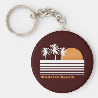 Porte-clés Rétro porte - clé de plage de la Madère