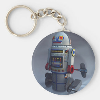 Porte-clés Rétro porte - clé du numéro 7 de robot de jouet