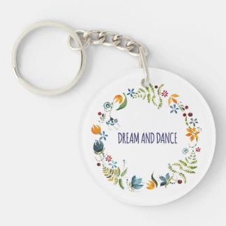 Porte-clés Rêve et danse