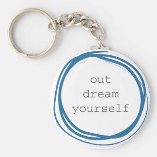 Porte-clés Rêve vous-même de motivation