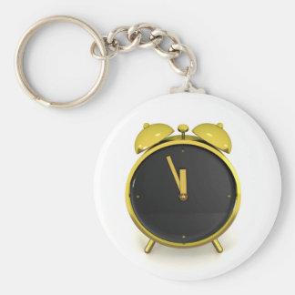 Porte-clés Réveil d'or