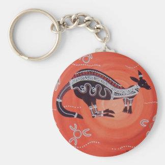 Porte-clés Rêver de kangourou