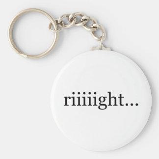 Porte-clés Riiiight… porte - clé ONU-de motivation