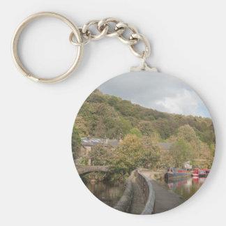 Porte-clés Rivière BRITANNIQUE Calder de Yorkshire Angleterre