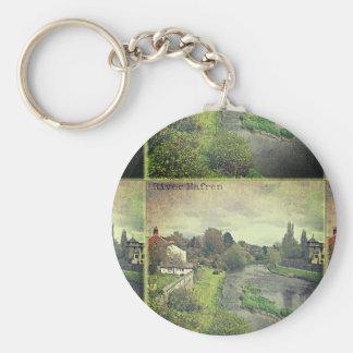 Porte-clés Rivière Hafren à Newtown, Powys