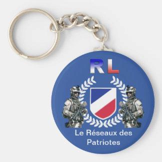 Porte-clés RL patriotes