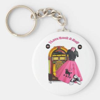 Porte-clés roche d'amour des années 50 I et porte - clé de