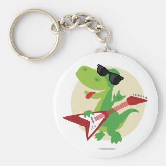 Porte-clés Roche dessus ! Porte - clé de dinosaure