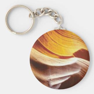 Porte-clés roches bronzages du soleil d'orange