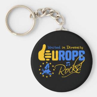 Porte-clés Roches de l'Europe ! porte - clé