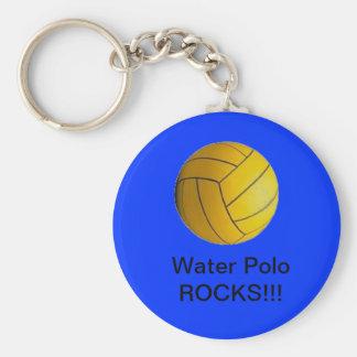 Porte-clés Roches de polo d'eau ! ! ! bleu de porte - clé