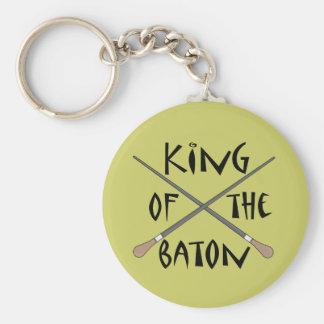Porte-clés Roi du cadeau de conducteur de bâton