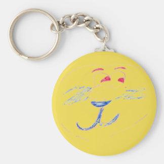Porte-clés rond d'Edouard