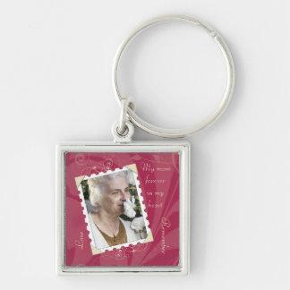 Porte-clés Rose dans la mémoire du porte - clé de photo
