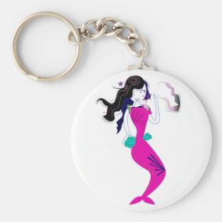 Porte-clés Rose merveilleux/T-shirts de sirène