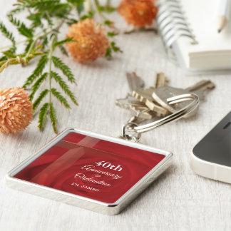 Porte-clés Rose rouge de prêtre de classification nommée