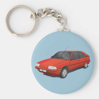Porte-clés Rouge de Citroën BX