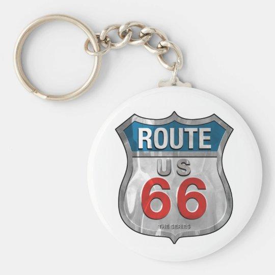 Porte-clés Route66