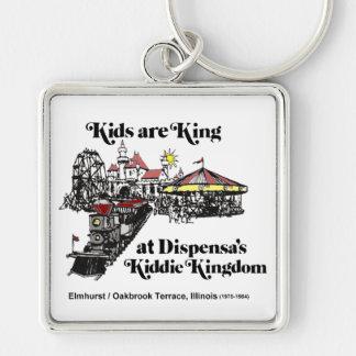 Porte-clés Royaume du Kiddie de Dispensa, terrasse d'Oak