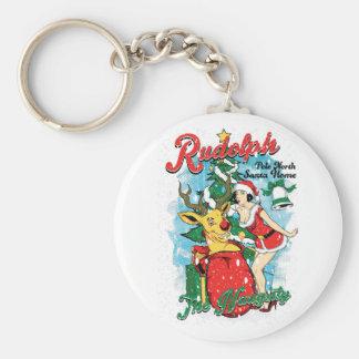 Porte-clés Rudolph vilain