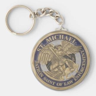 Porte-clés SAINT PATRON de St Michael de POLICE