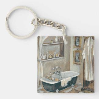 Porte-clés Salle de bains française neutre