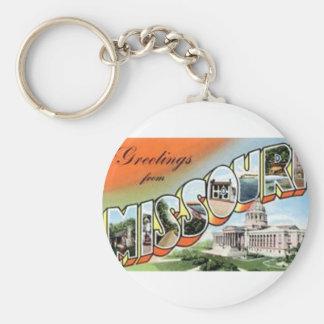 Porte-clés Salutations du Missouri