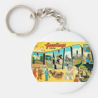 Porte-clés Salutations du Nevada