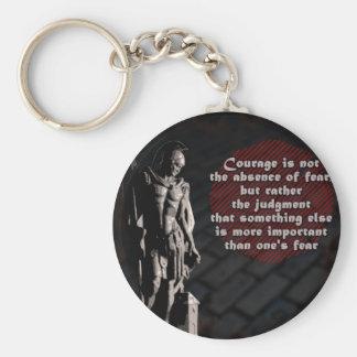 Porte-clés Sapeur-pompier de courage de St Florian