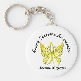 Porte-clés Sarcome d'Ewing du papillon 6,1