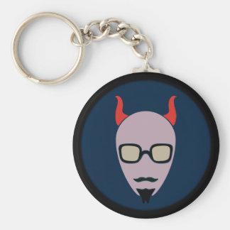 Porte-clés Satan est un hippie
