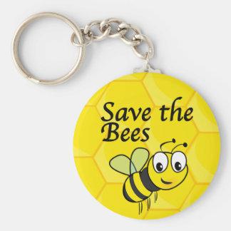 Porte-clés Sauvez les abeilles