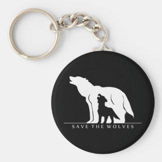 Porte-clés Sauvez les loups