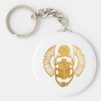 Porte-clés Scarabée Egypte. Scarabée de scarabée à ailes par