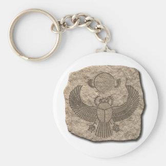 Porte-clés Scarabée-pierre