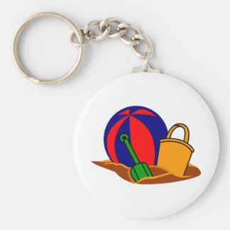 Porte-clés Scène de plage