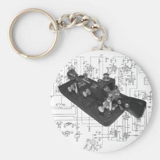 Porte-clés Schéma principal par radio de code Morse
