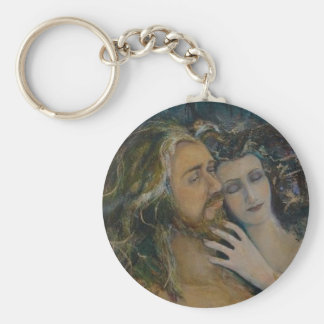 Porte-clés Seigneur et Madame Keychain de région boisée