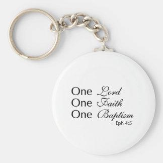Porte-clés Seigneur Faith Baptism