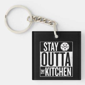 """Porte-clés """"Séjour Outta porte - clé de Pickleball de la"""