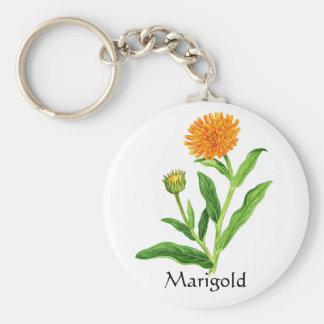 Porte-clés Série de jardin de herbes aromatiques - souci
