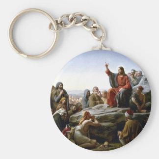 Porte-clés Sermon sur le porte - clé de bâti