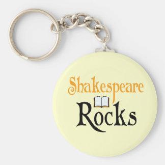 Porte-clés Shakespeare bascule le cadeau de porte - clé