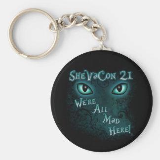 """Porte-clés SheVaCon 21 - """"nous sommes tous ici"""" porte - clé"""