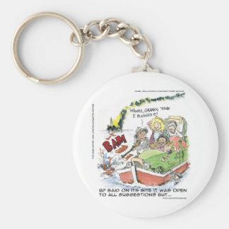 Porte-clés Shootin à quelques tasses drôles brutes de tee -