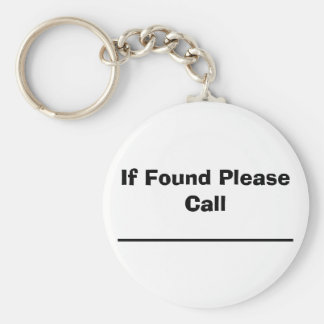 Porte-clés Si veuillez trouver pour appeler
